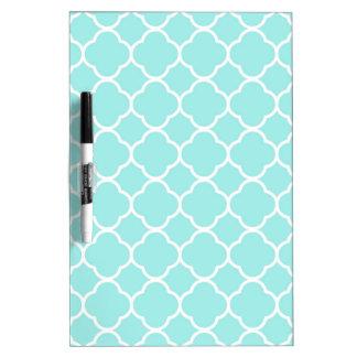 Quatrefoil Pattern Design Dry-Erase Whiteboard