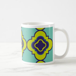Quatrefoil pattern II Coffee Mug