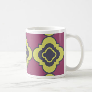 Quatrefoil pattern III Coffee Mug