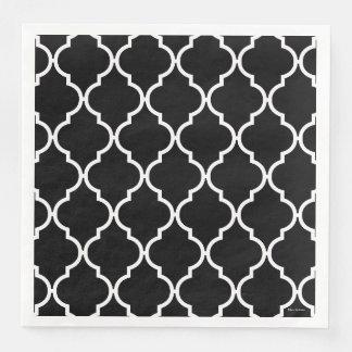 Quatrefoil Pattern Napkins