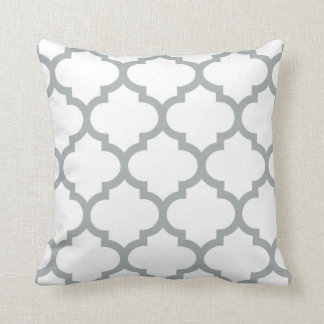 Quatrefoil Pillow - Paloma Gray