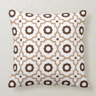 Quatrefoil Throw Pillow
