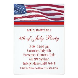 Quatrième de juillet ou invitation de partie de
