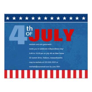 Quatrième de partie de juillet bristol personnalisé