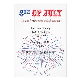 Quatrième des feux d artifice de juillet
