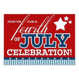 Quatrième des invitations de partie de juillet