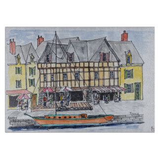 Quay Franklin, Saint-Goustan | Auray, Brittany Boards