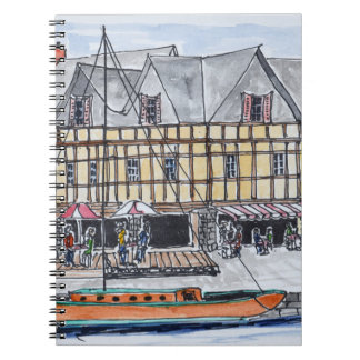 Quay Franklin, Saint-Goustan | Auray, Brittany Notebooks