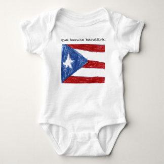 que bonita bandera... baby bodysuit
