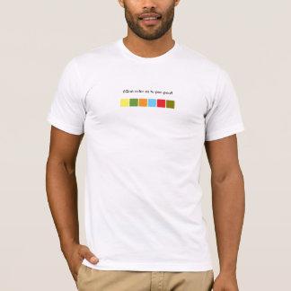 ¿Qué color es tu pee pee? T-Shirt