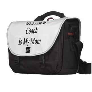 Que le beau entraîneur de polo d eau est ma maman sacoche ordinateurs portables