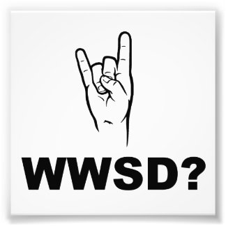 Que Satan ferait-il ?  WWSD ? Impressions Photo