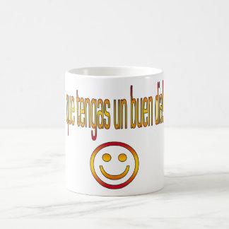 Que Tengas un Buen Día! Spain Flag Colors Coffee Mug