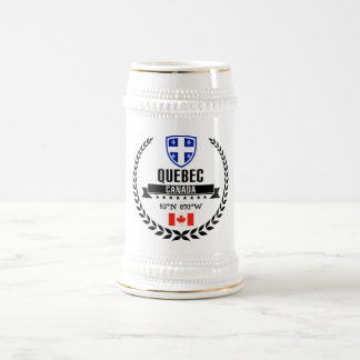 Quebec Beer Stein