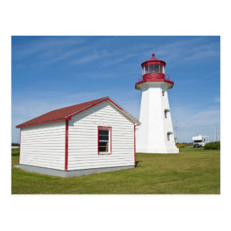 Quebec, Canada. Cap D'Espoir Lighthouse. Postcard