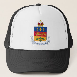 Quebec (Canada) Coat of Arms Trucker Hat