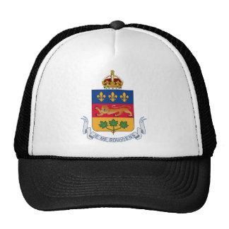 Quebec (Canada) Coat of Arms Trucker Hat