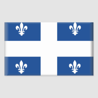 Quebec (Canada) Flag Sticker