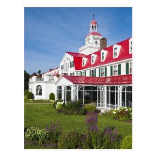 Quebec, Canada. Historic Hotel Tadoussac, 2 Postcard