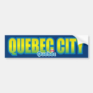 Quebec City Bumper Bumper Sticker