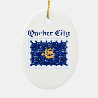 Quebec_City Canada designs Ceramic Ornament