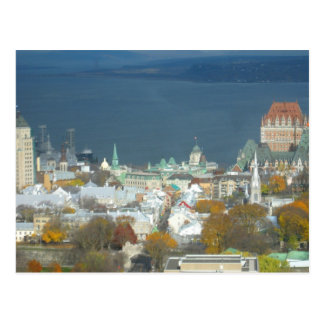 Quebec City Canada Waterfront Postcard