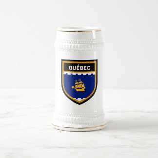 Québec City Flag Beer Stein