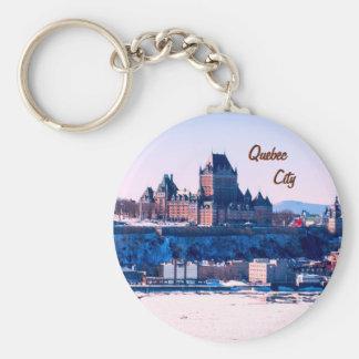 Quebec City Keychain