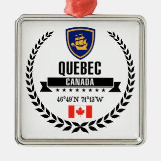 Quebec City Metal Ornament