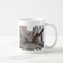Quebec City Street Mug