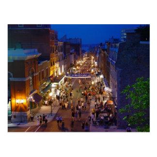 Quebec City Summer Festival Saint-Jean Postcard