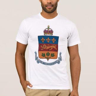 Quebec Coat of Arms (alternative) T-shirt