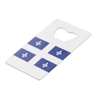 QUEBEC CREDIT CARD BOTTLE OPENER