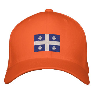 Quebec Embroidered Hat