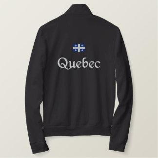 Quebec Flag Embroidered Jacket