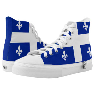 Quebec Flag High Tops