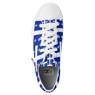 Quebec Flag Low-Top Sneakers