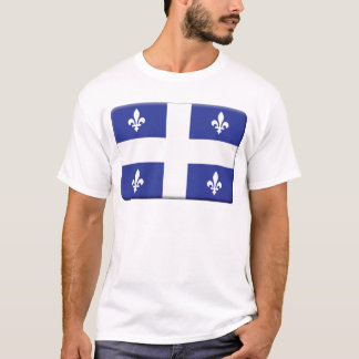 Quebec Flag PERSONALIZE T-Shirt