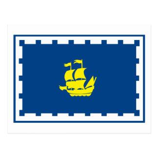 Quebec Flag Postcard