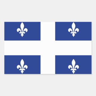 """""""Quebec"""" Flag Sticker"""