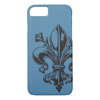 Quebec flower of elegant lily France - YOUR COLORS iPhone 8/7 Case