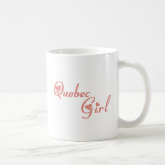 Quebec Girl Coffee Mug