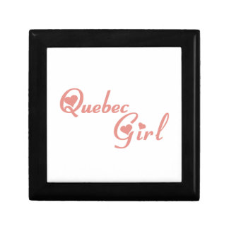 Quebec Girl Gift Box