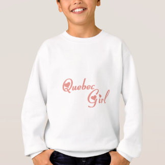 Quebec Girl Sweatshirt
