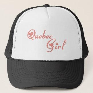 Quebec Girl Trucker Hat