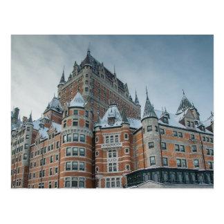 Quebec mansion postcard