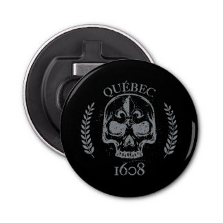 Quebec patriot 1608 grunge metal Referendum YES Bottle Opener