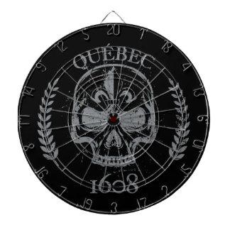 Quebec patriot 1608 grunge metal Referendum YES Dartboard