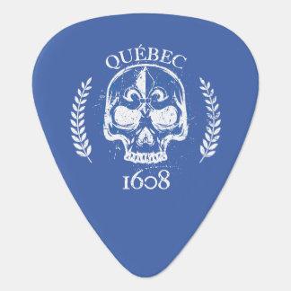 Quebec patriot 1608 grunge metal Referendum YES Guitar Pick