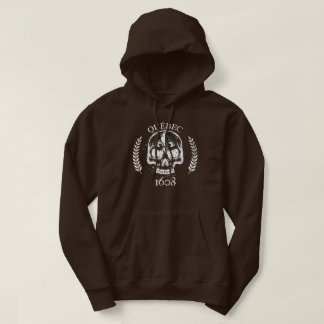 Quebec patriot 1608 grunge metal Referendum YES Hoodie